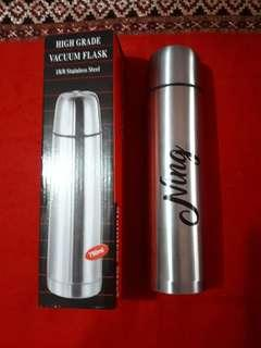 Personalized thermos or stainless vacuum flask 750 ml