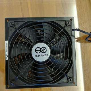 "AC Infinity AIRPLATE S3, Quiet Cooling Fan System 6"" with Speed Control"