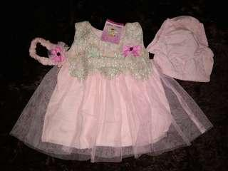 Gaun Anak Pink Ex Kado