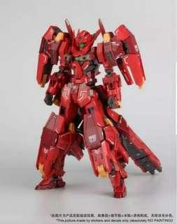 mg 1/100 Gundam 高達 模星 戰鬥女神f  雪崩型