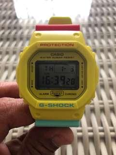 BN Casio💯% Authentic G-Shock DW-5600CM Breezy Rasta color for SGD$100
