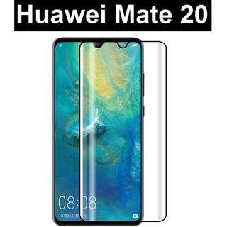 Huawei Mate 20 3D 9H HD Full Tempered Glass Screen Protector