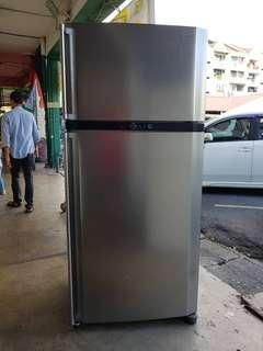 FRIDGE DOUBLE DOOR SHARP recond