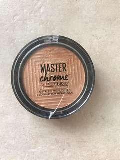 MAYBELLINE Master Chrome Metallic Highlighter - Molten Gold