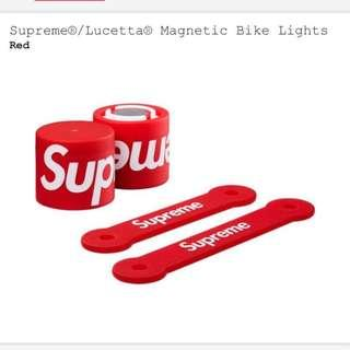 Supreme bike lights
