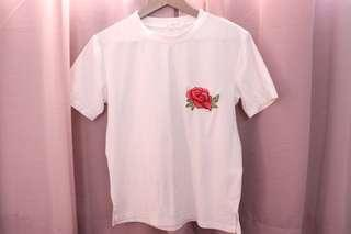 Embroided t-shirt