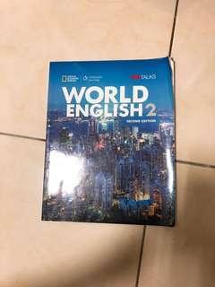 🚚 英文課本 world english2