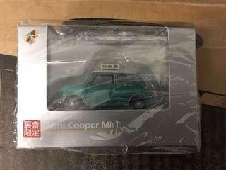 全新 TINY 微影 MINI COOPER 書展 限定 商品