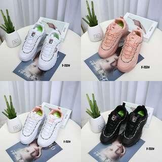 d79a49f90a Ledies Comfort Sneakers Disruptor FILA New Edition Disruptor ll Code : F -737#v