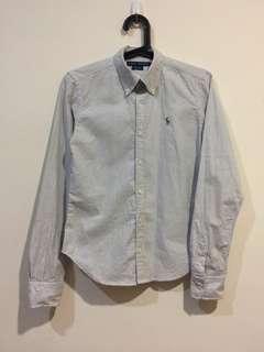 🚚 Ralph Lauren 襯衫 經典條紋
