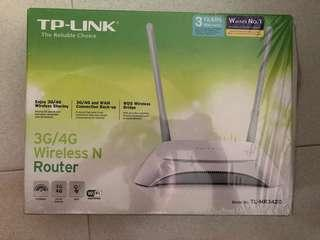 TP-Link 3G/4G wireless router TL-MR3420