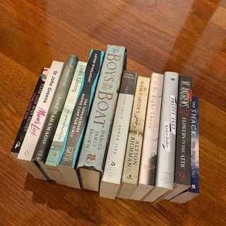 Books for Sale! - All 12!