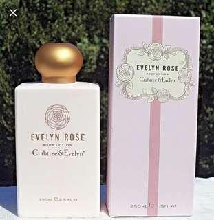 Crabtree & Evelyn Evelyn rose body lotion 250ml