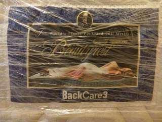 Simmons mattress Beautyrest Backcare 3, 95%New.