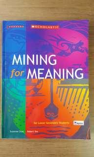 Mining for Meaning Literature