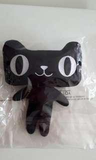 Stuffed Toy : Black Cat