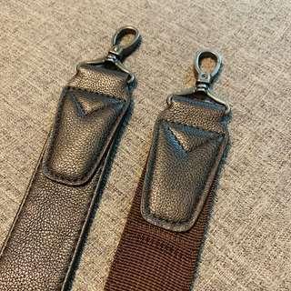 Leather Camera Strap (Dark Brown)