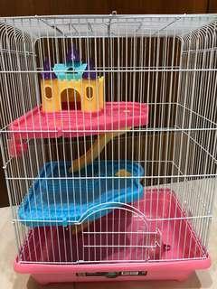 🚚 三層城堡鼠籠