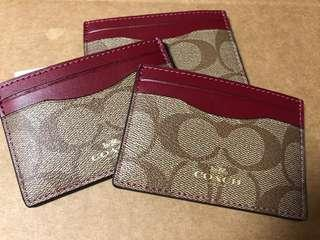 Coach Card Wallet