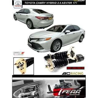 TOYOTA CAMRY HYBRID 2.5 17+ - BC BR SERIES COILOVER