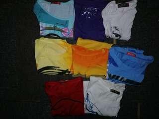 Take all 8 tshirts
