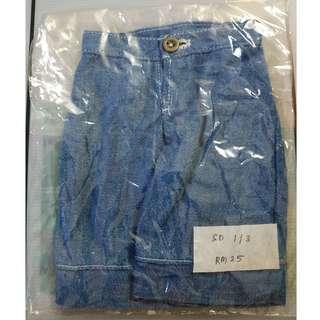 1/3 BJD Short Pants