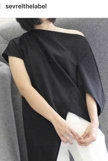 NEW sevrelthelabel black top