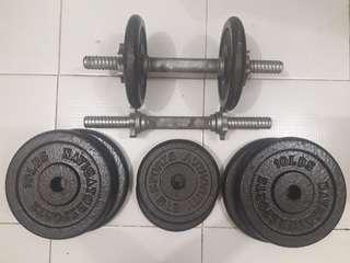 Preloved Dumbbell Set