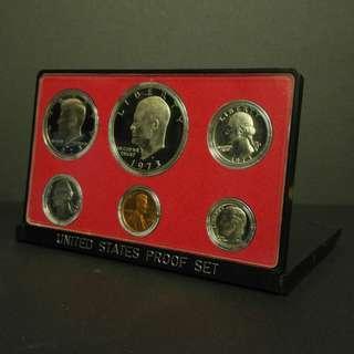 1973年 美國纪念幣一套