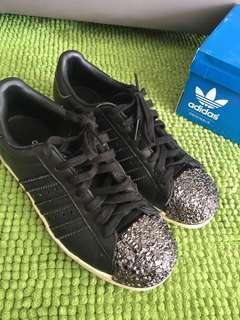 💯 Authentic Adidas Superstar 80s 3D MT W