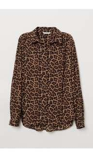 LOOKING FOR H&M Leopard Blouse