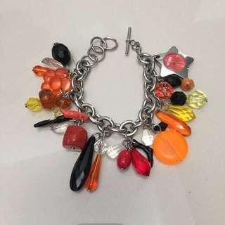 Moschino charm bracelet watch