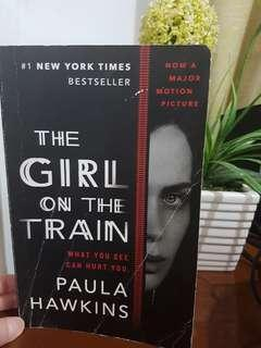 The Girl on the Train by Paula.Hawkins (large paperback)