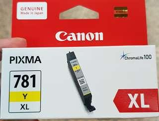 Canon CLI-781 XL Y Yellow Ink for PIXMA