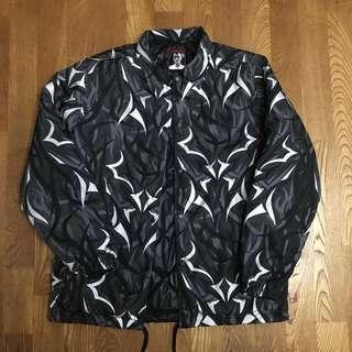 🐋CLOT ALIENEGRA 黑荊棘 教練 外套 夾克 雙面穿 M號