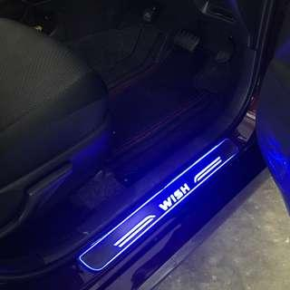 Toyota Wish LED Scuff Plate 2009 - 2018