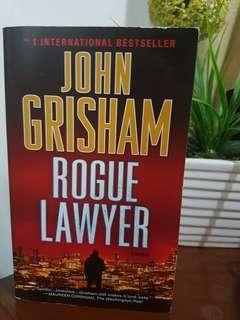 Rouge Lawyer by John Grisham (paperback)