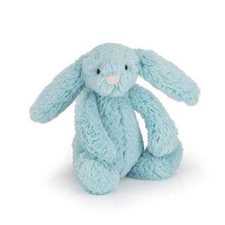 BNWT Jelly Cat Aqua bashful bunny small