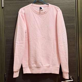 H&M 粉紅色 衛衣 Pink Sweater Long Sleeves Tee T-Shirt