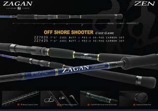 🚚 Zen Zagan Offshore Shooter Spinning Rod