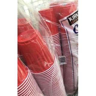 Kirkland Beerpong Red Cups