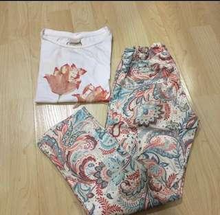 Zara pants & shirt for kids