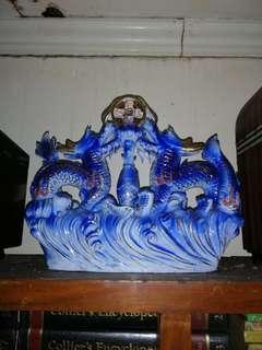 Chinese dragon display