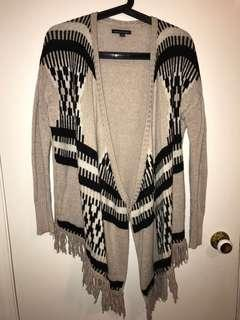 AE patterned cardigan S