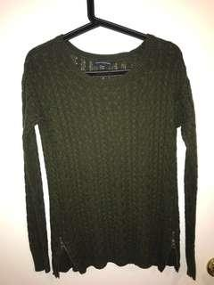 AE knit sweater M