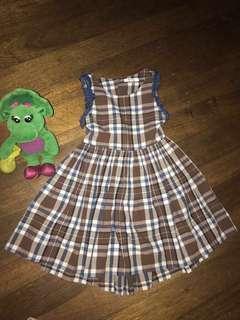 Brown dress -preloved