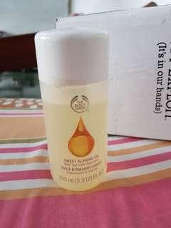 The body shop nail varnish remover