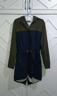 OLD navy long hooded winter Parka coat waterproof