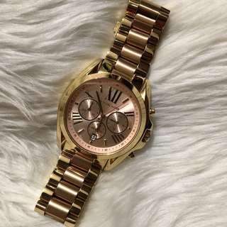 Preloved Michael Kors Bradshaw Chronograph Ladies Watch
