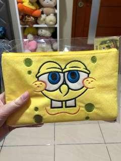 Pensil case spongebob